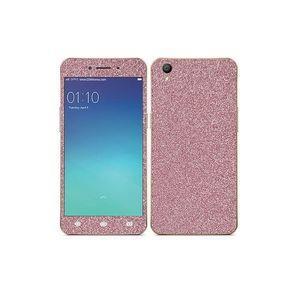 Oppo A37 Glitter Skin - Pink