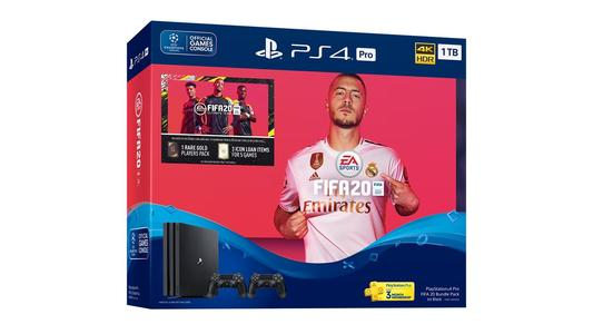 PlayStation 4 PRO  FIFA 20 Bundle - 1TB GB Region 2