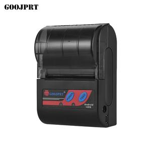 GOOJPRT MTP-II Portable 58mm BT Thermal Printer Handheld Mini Receipt Printer 80mm/s Print Speed for IOS Android Windows System