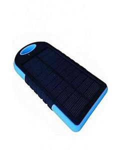 Solar Power Bank 5000 mAh all mobile sported - blue