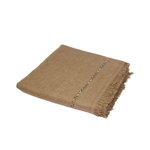DesiBazaar Brown Wool Handmade Shawls for Men