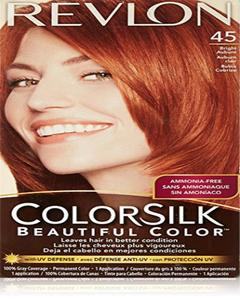 Color Silk 3D Technology USA For Men and Women No 45 Bright Auburn