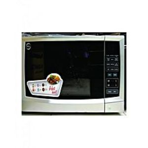 PEL Microwave Oven, 30BG, Digital, Grill - Silver