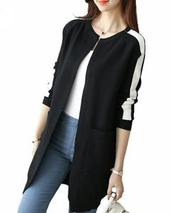 Black Long Coat For Women