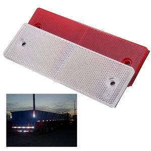 The old tree  Replacement Amber Rectangle Reflector Red White For General Purpose Car Trailer 150x48x6.2m