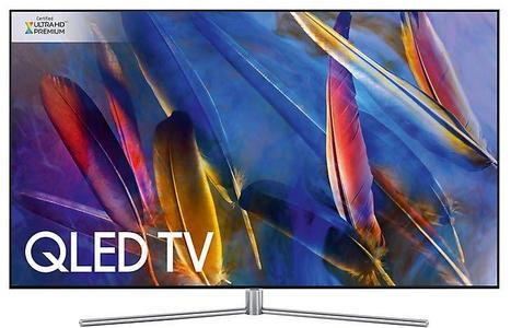 Samsung LED TV 4K Smart Flat QLED 55Q7F 55 Inch