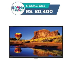 32MG3013 - HD LED TV with Built-in Soundbar & DC Battery Compatibility - 32 - Glossy Black