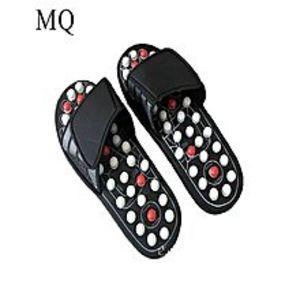 Foot CareFoot Care Foot Reflexology Massage Slippers - Black