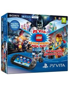 PS Vita Lego Action Heroes Mega Pack Voucher with 8GB Memory Card