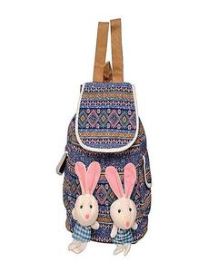 Cute Stuffed Girls College And School Bag