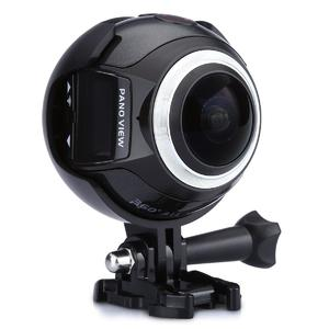 16MP Mini Panoramic Camera HD DV VR WiFi Waterproof Sports Action Video 4K 360°
