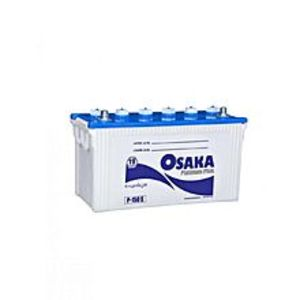 Osaka Batteries PLATINUM P-250-S - 27 Plates - Acid Battery - White