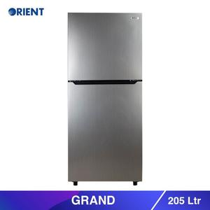 Orient Grand 205 - Top Mount Refrigerator 205 L- Silver