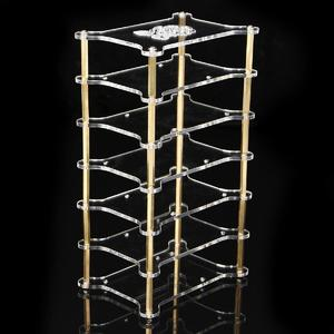Clear Acrylic Cluster Case 6 Layer Shelf Stack For Raspberry Pi 3/2 B and B+