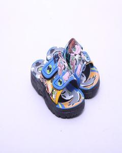 Multicolor Rubber Ben 10 Slipper For Kids