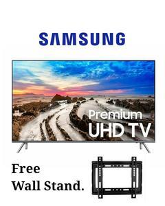 Samsung MU7000 - Smart 4K UHD 43 inches LED TV - 7 Series - Resolution: 3840 x 2160- Black