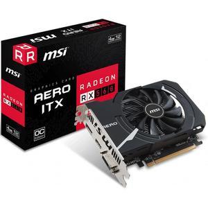 MSI Radeon RX 560 AERO ITX 4G OC Graphics Card, 4GB GDDR5 912-V809-2467