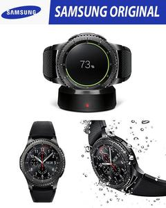 Original Samsung Gear S3 Frontier 4GB Rom Box Packed - Black/Space Grey