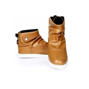 Mustard Stylish Back Lace Lifestyle Sneakers