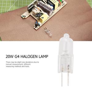 20W G4 Halogen Lamp 12V Warm White 360 Beam JC Clear Halogen Bulb Light
