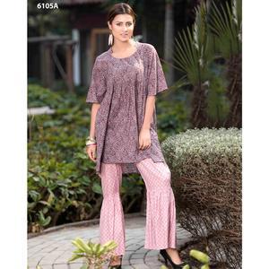 SITARA STUDIO Sapna Collection 2019 Multicolor Lawn 2PC Unstitched Suit For Women - 6105 A
