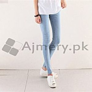 The Ajmery Women's Blue Skinny Jeans. KTY-4852