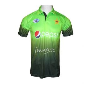 Pakistan Cricket Team New Shirt Full Sleeves - Green