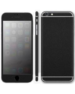 IPhone 6 & 6s Skin Protector - Black Leather