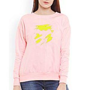 SA BazaarDirty Yellow Women Sweat Shirts
