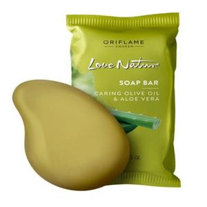 Soap Bar Caring Olive Oil & Aloe Vera