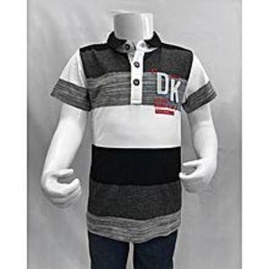 Tiny TodsBlack Premium Quality Imported Polo Shirt For Boys