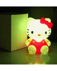 LED Color Changing Hello Kitty Character Night Light Table Lamp