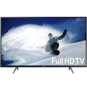 """43"""" Inch UHD 4k Led Flat Smart Tv Double Glass-Black with Free 32gb USB & Wall-Mount (1 Year Circuit Repairing Warranty)"""