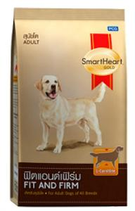 SMART HEART GOLD  - Fit & Firm - All Breeds of Adult Dogs- DOG DRY FOOD - 3 KG