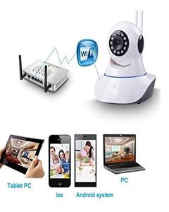 V380S - Wifi IP 1.3MP 720p HD 360 Rotate Night Vision Camera - White