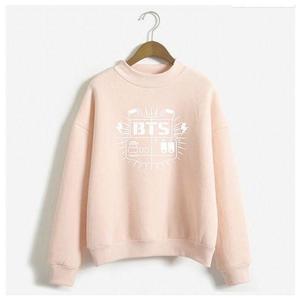 Unisex Fleece BTS Sweatshirts - Pink