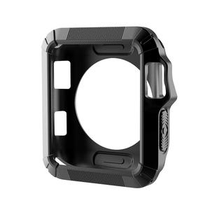 Huilopker Rugged Armor Cover Shockproof Drop Protection Cover for iWatch Apple Watch Case