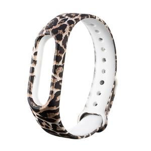 Replacement Silicone 220mm Pattern Wriststrap Band for Xiaomi Miband 2
