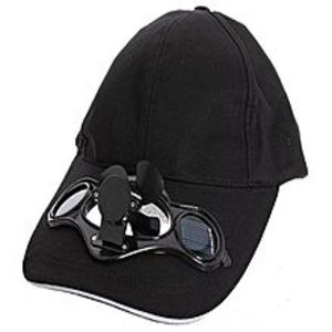 Big BagSummer Sport Outdoor Hat With Solar Sun Power Cool Fan