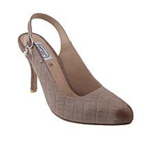 Castillo Alla ModaOff White Leather Coat Shoe for Women - C1A