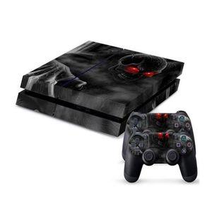 Dark Soul Skeleton PS4 PlayStation 4 Skin Protector - Black