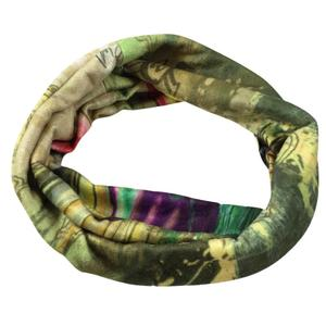 Women Men Scarves Printing Infinity Cable Circle Shawl Wrap Winter Warm Collar
