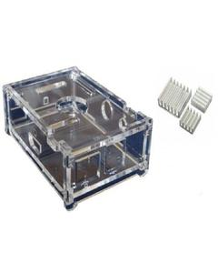 Raspberry Pi - Clear Casing with Heat Sinks (Pi2/Pi3)