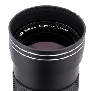 LALA 420~800mmF / 8.3-16 Manual Telephoto Lens for Canon/Pentax/M4/3/SONY/NEX