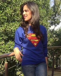 SUPERMAN Sweat Shirt For Her