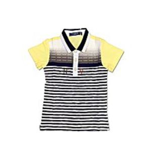 Tiny TodsYellow Cotton Jersey Polo Shirt