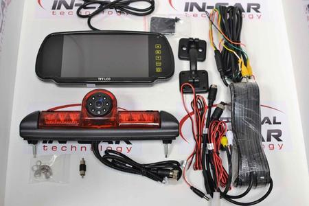 """For Fiat Ducato Citroen Relay Peugeot Boxer Sony CCD NTSC Reverse Camera kit with 7"""" Monitor"""
