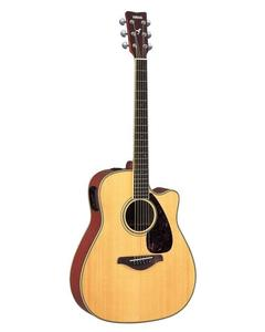 41''C Semi-Acoustic Guitar - Brown With Tuner-Eq + Bag + Strap