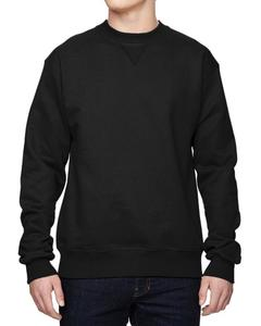 New Fashion Black Plain Fleece Winter Sweatshirt For Men