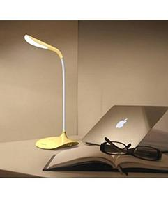 Rechargeable Flexible  Fashion Wind LED Table Lamp - Yellow